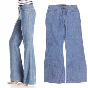 Anthropologie Level 99 Newport wide leg trousers